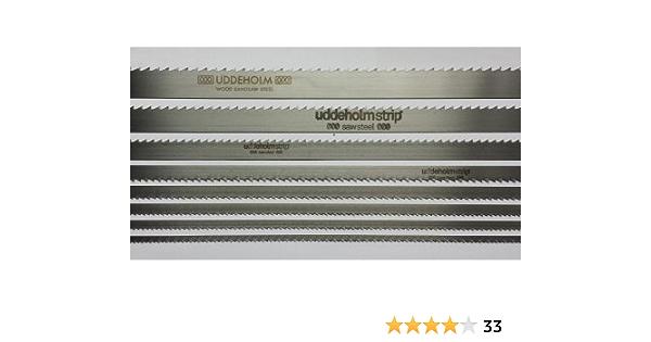 Bands/ägeblatt Uddeholm Schwedenstahl 1070mm-2500mm x 6mm x 0,4mm 6ZpZ 1400mm x 0,4mm 6ZpZ