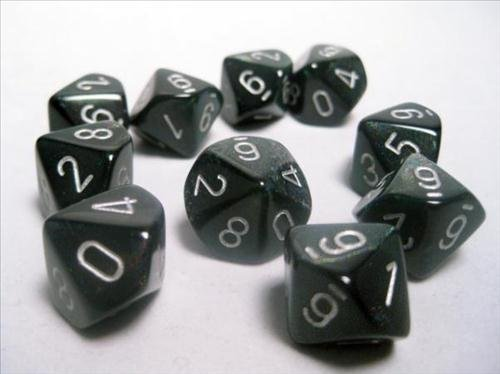 chessex-dice-sets-borealis-smoke-with-silver-ten-sided-die-d10-set-10-by-chessex