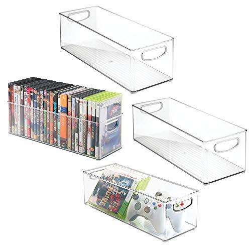 mDesign Set of 4 DVD Storage Con...