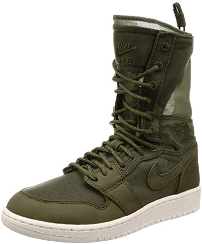 Nike Jordan Wouomo Wmns Air 1 Explorer XX, Olive Canvas Phantom, 5.5 US | Tatto Comodo  | Gentiluomo/Signora Scarpa