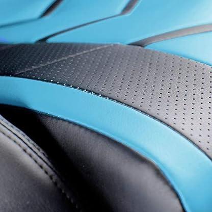 41vpaC8URwL. SS416  - Diablo® X-Fighter Silla Gaming Silla de Oficina reposabrazos Ajustables soporta hasta 150 kg 3D Mecanismo de inclinación cojin Lumbar Cuero sintético Perforado