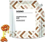 Amazon Brand - Solimo Handwash Liquid Refill, Honey Almond - 1500 ml