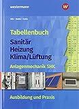 Tabellenbuch Sanitär-Heizung- Lüftung: Tabellenbuch Sanitär-Heizung-Klima/Lüftung: Anlagenmechanik SHK Ausbildung und Praxis: Tabellenbuch - Claus Ihle, Rolf Bader, Manfred Golla