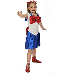 Disfraz de Sailor Moon (Niña)