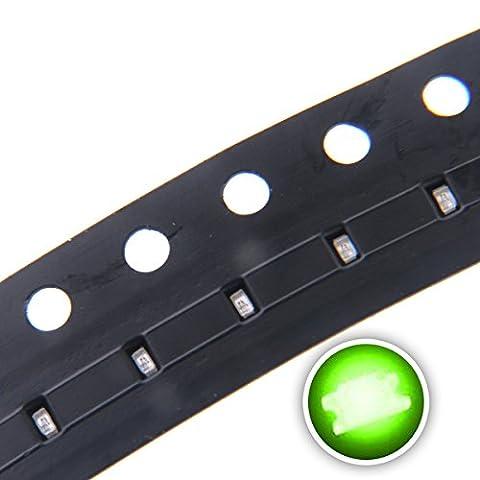 Chanzon 100 pcs 0402 Green SMD LED Diode Lights (Mini