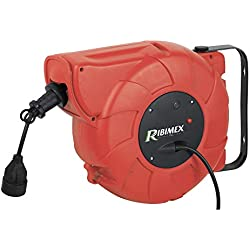 Ribitech 1667 Enrouleur électrique automatique 22 m