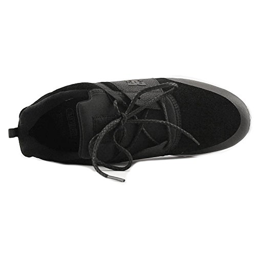 DC – -Uomo di Heathrow presti Low Top Scarpe Casual Nero/Bianco