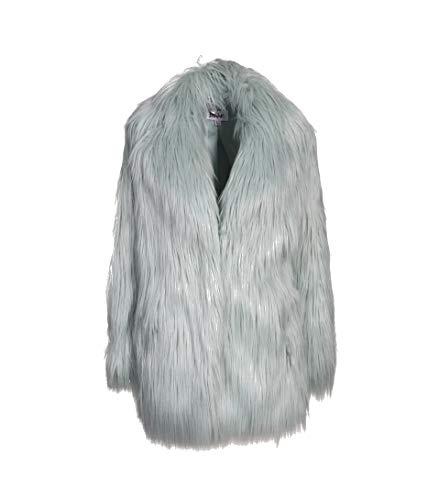 JAKKE Damen Jacke Heather aus Kunstpelz in Mint-Grün Mint 8 Luxe Blouson