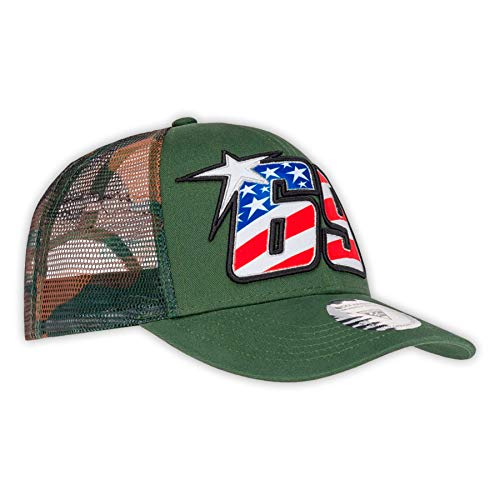13a336579 Nicky Hayden 69 Moto GP Camouflage Trucker Baseball Cap Official 2019