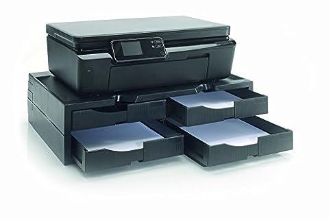1PLUS Premium Imprimante/Copieur Support avec 4tiroirs pour papier A4jusqu'à 40kg