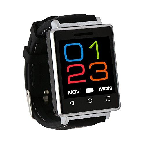 Vigilanza Del Bluetooth - Bluetooth smart orologio / Fitness Tracker Smartwatch Compatibile Telecamera Remota Bluetooth & Supporto Per Android IOS REG7 - Argento