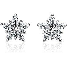 pandora orecchini fiocco di neve