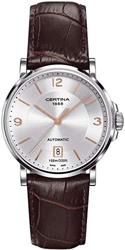 Certina Herren-Armbanduhr XL Analog Automatik Leder C017.407.16.037.01
