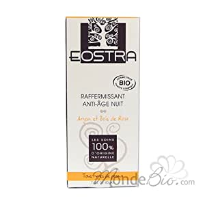 Eostra Raffermissant anti âge nuit Argan Bois de Rose Eostra 40gr
