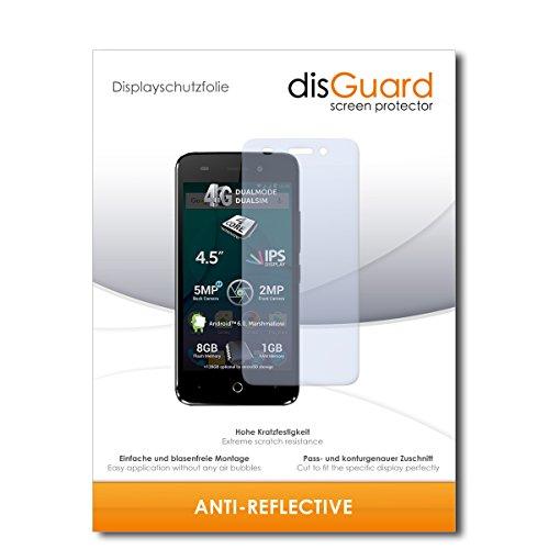 disGuard® Bildschirmschutzfolie [Anti-Reflex] kompatibel mit Allview P5 Lite [3 Stück] Entspiegelnd, Matt, Antireflektierend, Extrem Kratzfest, Anti-Fingerabdruck - Panzerglas Folie, Schutzfolie