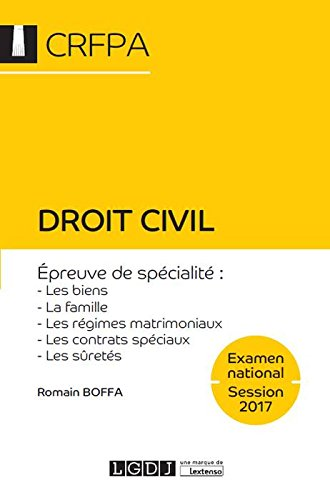 Droit civil - Examen national Session 2017