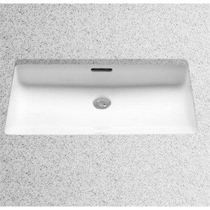 Toto LT191G#03 20-1/2-Inch by 12-3/8-Inch Undercounter Lavatory with SanaGloss, Bone by Toto
