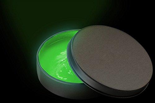 """Playtastic Intelligente Knete: Nachleuchtende Knete """"glow in the dark"""", 50 g, grün (Nachtleuchtende Knete)"""