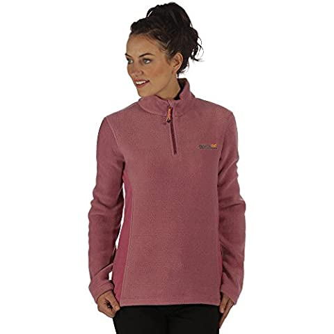 Regatta Great Outdoors Womens/Ladies Embraced Half Zip Fleece Sweater (20) (Red Violet)