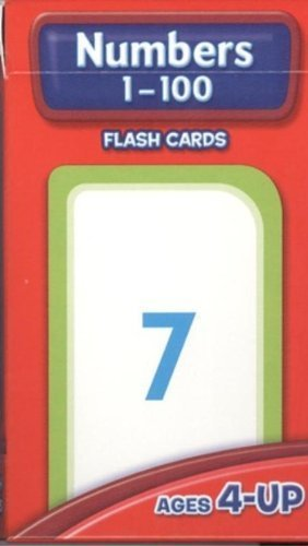 Flash Cards - Numbers 1 - 100 by School Zone (1996) Cards