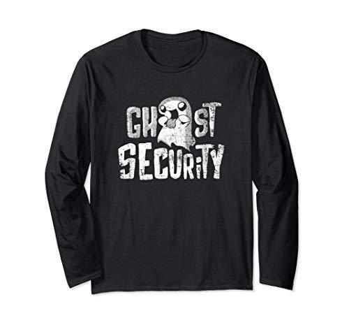 Einfach Ghost Kostüm - Einfaches Halloween Ghost Security Kostüm Langarmshirt