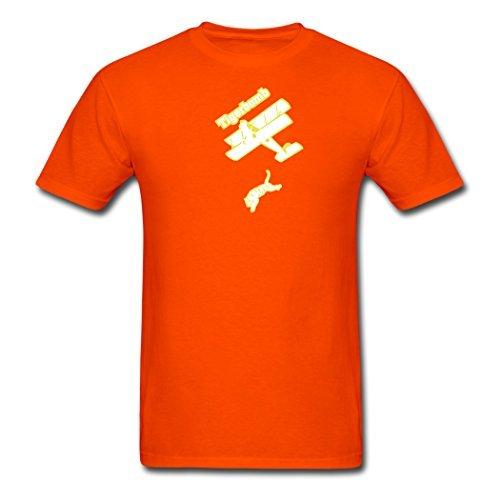 Creative Tiger bomb Orange Men Clothing