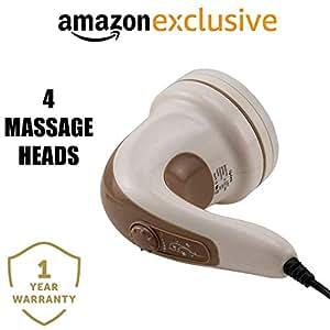 Lifelong LLM27 Electric Handheld Full Body Massager (Brown)