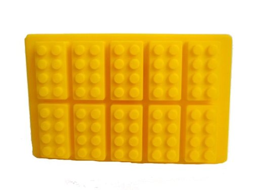 Lego Shaped Silicone Mould
