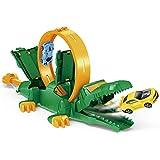 AOTE-D Cinghia per L'espulsione di Coccodrilli Meccanici Set Grandi Dimensioni Car Boy Girl Regalo Compleanno Regalo Natale,Green
