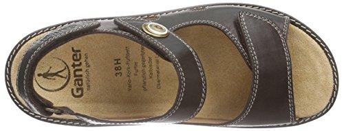 Ganter Hera, Weite H, sandales ouvertes femme brun (espresso 2000)
