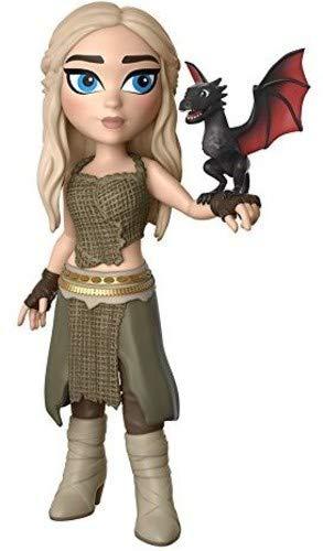 Funko- Game of Thrones Figura Rock Candy Daenerys Targaryen (14950)
