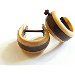 Pendientes de madera