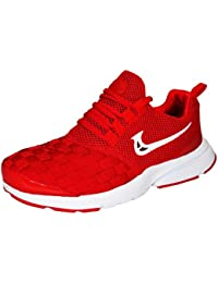 Max Air Sports Running Shoes Red White 905 DT