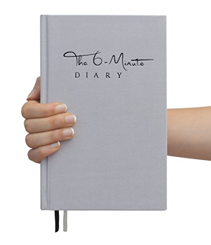 The 6-Minute Diary (Das 6-Minuten-Tagebuch auf Englisch) – A book that will change your life | 6 Minutes a Day for more Mindfulness, Happiness and Productivity | The perfect gift
