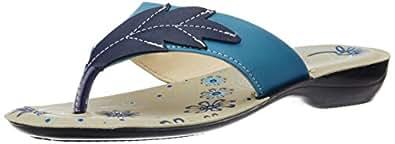 Tiptopp (from Liberty) Women's Sky Blue Slippers - 3 UK