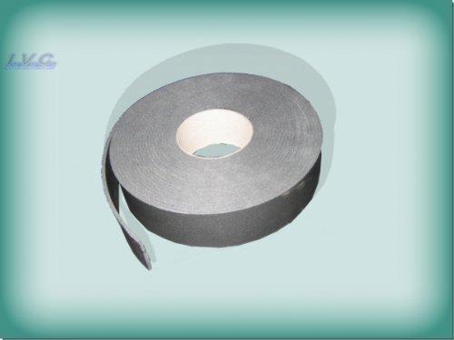 Kautschuk Band für Rohrisolierung Heizung / Sanitär Tape selbstklebend 50mm, grau
