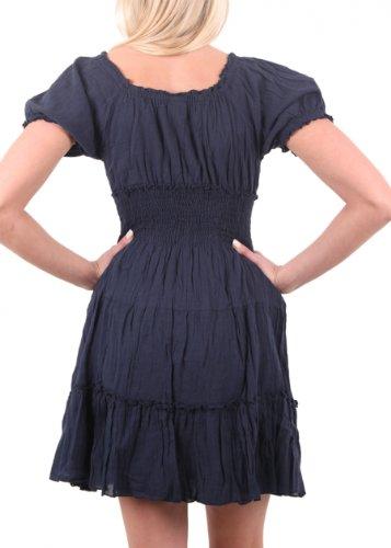 """Vila Kleid """"Sindal Dress"""" marine blue Marine Blue"""