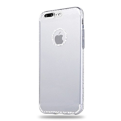 iPhone 7 Plus Hülle, iPhone 8 Plus Handyhülle, Sunroyal Silikon Case Ultra Dünn Kreativ Mountain Berg Muster Design Durchsichtig Gel Schutzhülle TPU Zurück Rückseite Bumper für Apple iPhone 7 Plus / i Pattern 2