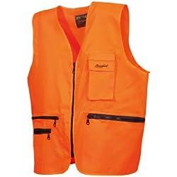 "Benisport - Chaleco fosforito ""basic line"" talla xxl, color naranja"