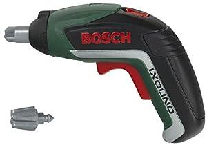 Theo Klein-8300 Bosch Ixolino II Atornillador con Acumulador, 2 Pilas R03-AAA (Mirco), Juguete, Multicolor (8300)