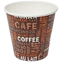 50Coffee to go taza 100ml Vasos de papel tazas de espresso Mocca schey té de de Gastro de requisitos de bien Heil®