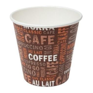 Gastro - necessità di Ben Heil 50 Coffee to go tazza 100 ML BICCHIERI DI CARTA Espresso Mocca tschai Tè