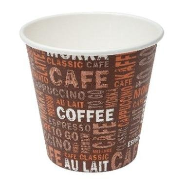 Gastro-Bedarf-Gutheil Tasse à café à gaz avec 50 Tasses en Carton 100 ML