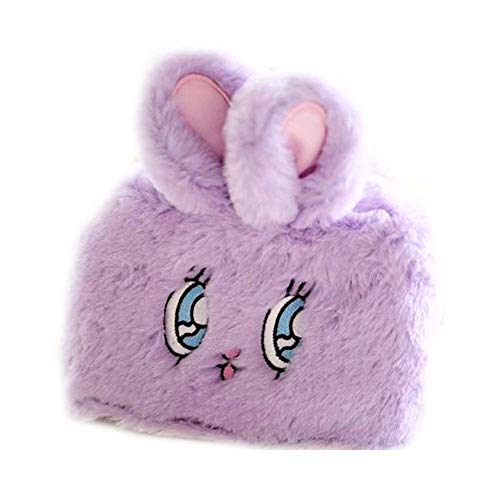 lujiaoshout Women Cartoon Sanitary Napkins Bag Menstrual Cup Pouch Organizer Convenience Bags - Rabbit Style