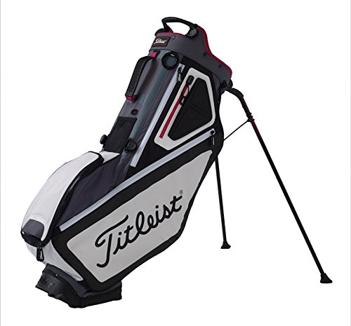Titleist 5 stand Bag – Charcoal/Black/Blackberry