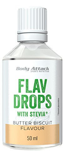 Body Attack Flav Drops Stevia (Butter Biscuit)