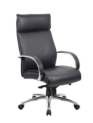 boss-office-products-high-back-knee-tilt-executive-chair-traditional-aluminum-finish-black-upholster