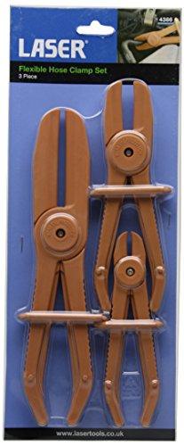 Laser 4386 Set di Pinze per Tubi Flessibili