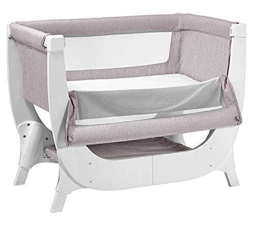 Shnuggle Air Cot Conversion Kit Shnuggle Extends the life of the Shnuggle Air Bedside Crib from 6 months up to 2 years* Large, dual-view mesh sides promote breathability and allow you to see your little one more easily. Uniquely designed Air-Flow Mattress (sold separately), with a hypo-allergenic fibre core providing 50% more breathability than a standard foam mattress** 11