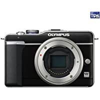 Olympus PEN E-PL1 Systemkamera (13 Megapixel, 6,9 cm (2,7 Zoll) Display, Bildstabilisator) Gehäuse schwarz